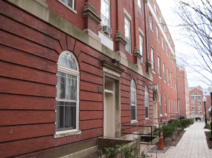 DANIEL SMITH/THE HOYA Ryan and Mulledy Halls will be converted into student housing by fall 2015, ensuring that the university can accommodate third-year students.