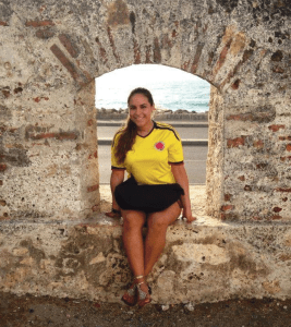 FACEBOOK Andrea Jaime (NHS '17), who died of bacterial meningitis Tuesday is pictured here in Bolivar, Colombia, the country where she was born.