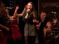 The Georgetown Saxatones  (Isabel Binamira/The Hoya)