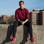 NATE MOULTON/THE HOYA Throughout high school, Robbie Ponce (COL '17) underwent a harrowing period of self-doubt and self-discovery as he battled with anorexia.