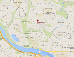 GOOGLE MAPS The homicide was reported at