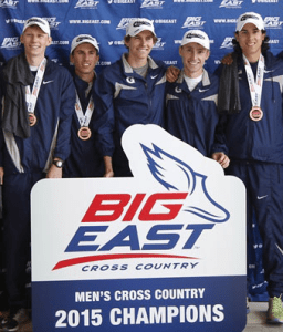 GUHOYAS The No. 15 men's cross country team  won first place in the Big East Championship meet this past weekend. The Hoyas were led by juniors Jonathan Green and Scott Carpenter.