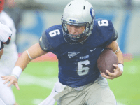 Georgetown Athletics Junior running back Alex Vallez rushed for 87 yards and scored one touchdown in last Saturday's loss.