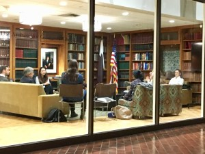 The School of Foreign Service is hosting a series of discussions for students on issues concerning minority students in light of President-elect Donald Trump's victory.