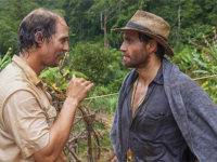 """BOIES/SCHILLER FILMS Starring an immensely entertaining Matthew McConaughey, """"Gold"""" tells the story of Kenny Wells, a businessman down on his luck who joins geologist Michael Acosta, played by Édgar Ramírez, on a quest to find gold deep in the Indonesian jungles."""