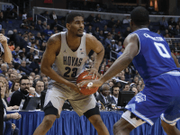 Graduate student guard and leading scorer Rodney Pryor has been a bright spot on Georgetown this season. Pryor ranks third in the Big East in scoring with 18.1 points per game. (FILE PHOTO: DERRICK ARTHUR)