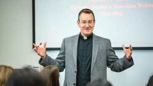 GEORGETOWN UNIVERSITY Rev. Mark Bosco, S.J., director of catholic research center The Joan and Bill Hank Center for the Catholic Intellectual Heritage at Loyola University Chicago, will serve as the university's vice president of mission and ministry starting Aug. 1.