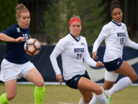 COURTESY GUHOYAS Junior defender Jenna Staudt has started all eight of the team's games this year. Staudt was named a Big East Academic All-Star last season.