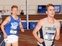 GUHoyas Graduate student distance runner Jonathan Green won the 3000m at the Nittany Lion Challenge.