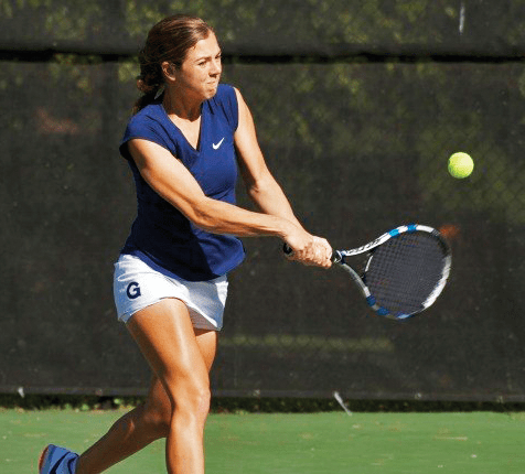 TENNIS | Men Secure 1st Victory, Women Fall to 0-3