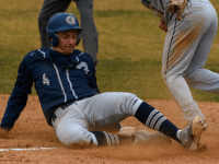 GUHOYAS Freshman shortstop Eddie McCabe fueled the Hoyas' offense last Wednesday against Coppin State, going 3-6 with six RBIs in the 16-9 victory.
