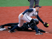 GUHOYAS Sophomore second baseman Delaney Darden went 0-4 against Providence with one walk. Darden has a .308 on base percentage so far this season. She has yet to make an error in the field.