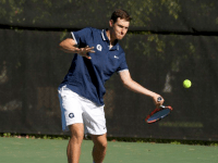 MEN'S TENNIS   Hoyas Top Colonials for the 1st Time in a Decade
