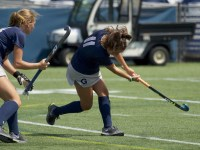 Sophomore Jax Van Der Veen scored one of the Hoyas' two goals in their victory over Appalachian State.