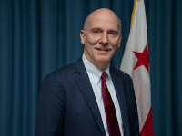 PHIL MENDELSON City Council Chairman Phil Mendelson postponed the final vote on a bill to regulate Airbnb and regular services Oct. 16.