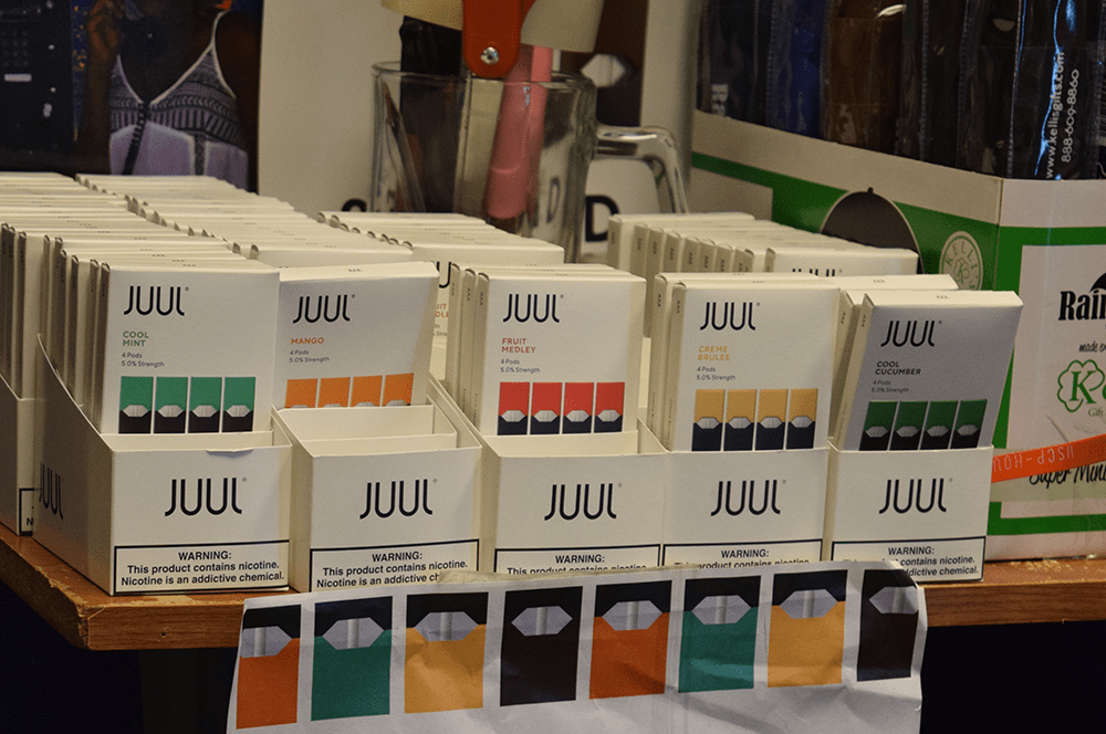 Corp Eliminates Select Juul Products as Brand Halts Sales Nationwide