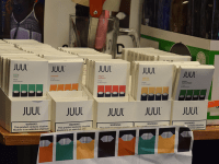 KIKI SCHMALFUSS / THE HOYA Juul Labs announced Nov. 13 that it will remove some of its products from stores, a move that will affect The Corp.