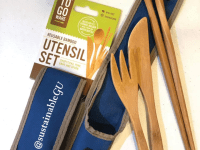 Georgetown Environmental Leaders/Facebook | In collaboration with the Office of Sustainability, GUSA has launched an initiative that encourages students to reduce plastic usage. The first 15 club leaders to attend a training session will receive reusable utensils.