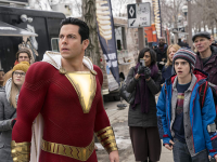 "WARNER BROS | Shedding the usual self-importance that has dominated the superhero genre, ""Shazam"" takes itself lightly, allowing for hilarity to ensue."