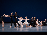 KENNEDY CENTER | Despite moments of less-than-perfect execution throughout the program, the choreography and production reestablished the New York City Ballet's status as a trend setter in dance.