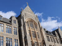 ROCHELLE VAYNTRUB/THE HOYA | Georgetown accepted 3,202 out of 22,788 total applicants to the Class of 2023, making this year's acceptance rate the lowest in the university's history.