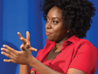 GEORGETOWN COLLEGE | Commencement speakers like Chimamanda Ngozi Adichie impart graduates with wisdom that embodies the values they learned at Georgetown.