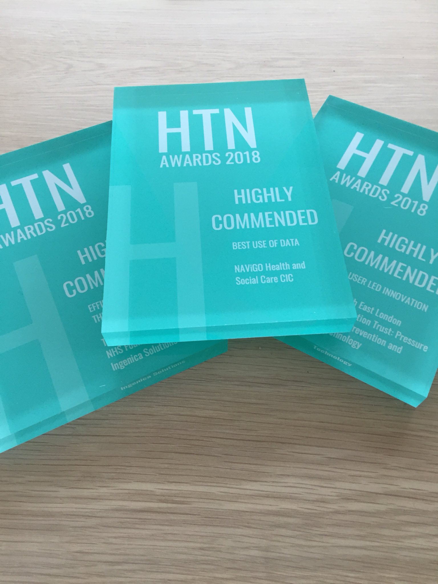 Health Tech Awards 2019 - htn