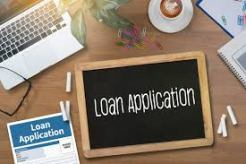 loan application board and form