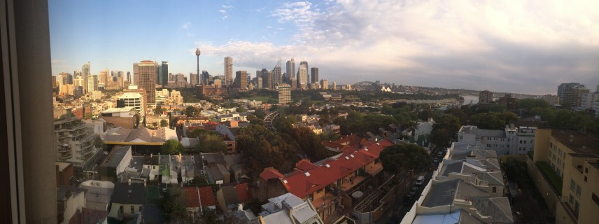 Photos | A room with a View, Downtown Sydney from Potts Point