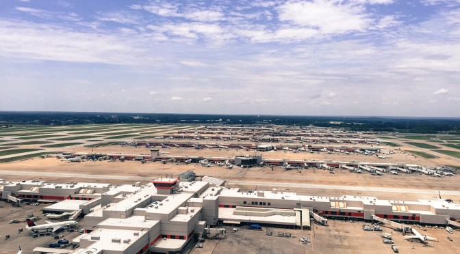 Photos | Exploring the tallest ATC Tower (ATL) in North America #avgeek