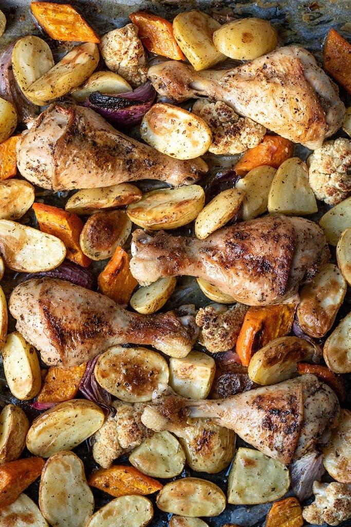 Κοτόπουλο στο φούρνο με πατάτες 2