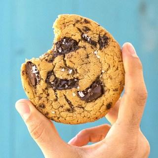 Μαλακά μπισκότα με κομμάτια σοκολάτας (νηστίσιμα)