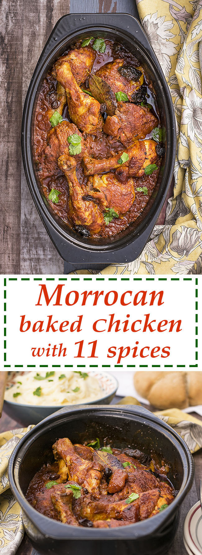 Moroccan baked chicken with 11 spices 5