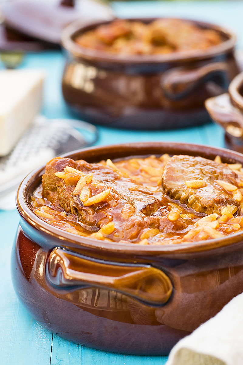 Greek beef stew with orzo pasta (Youvetsi) 1