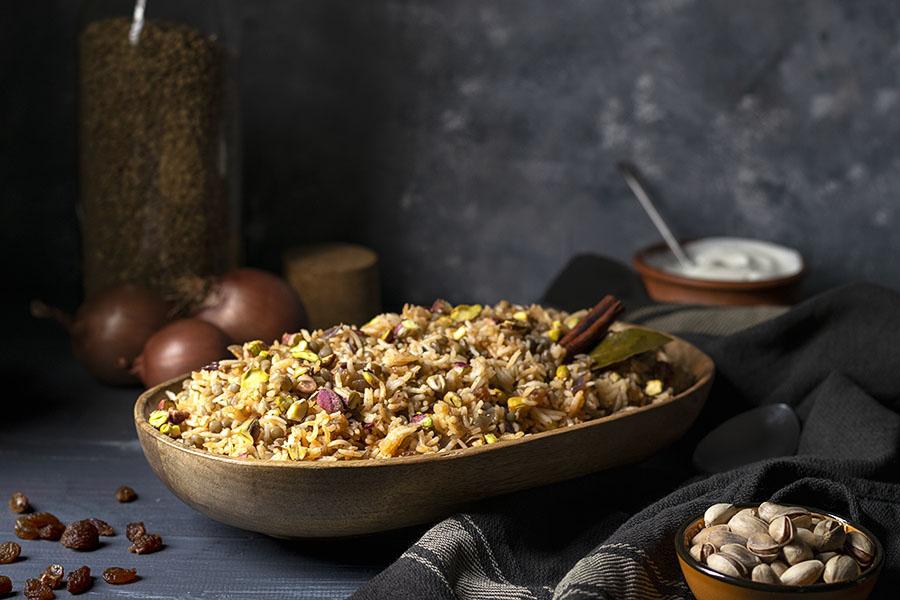 Lebanese Rice and Lentil Pilaf (Mujadara) - Vegan 2