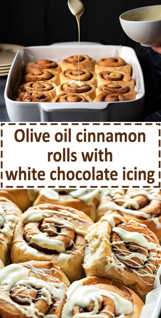 homemade cinnamon rolls recipe with the best icing 8