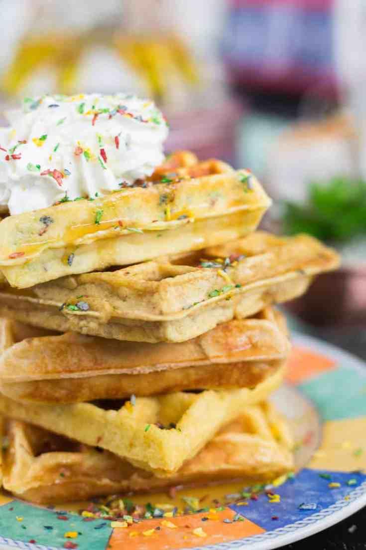 Keto Coconut Waffles