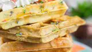 Keto Waffles Recipe (3 Ways!)