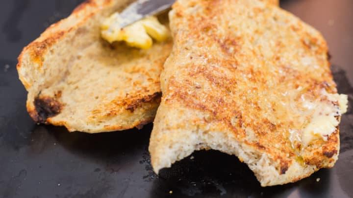 keto 90 second bread no eggs nuts