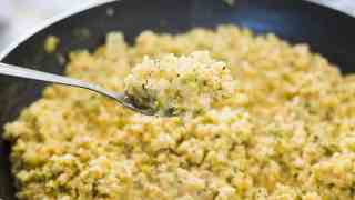 Keto Cheese and Broccoli Rice
