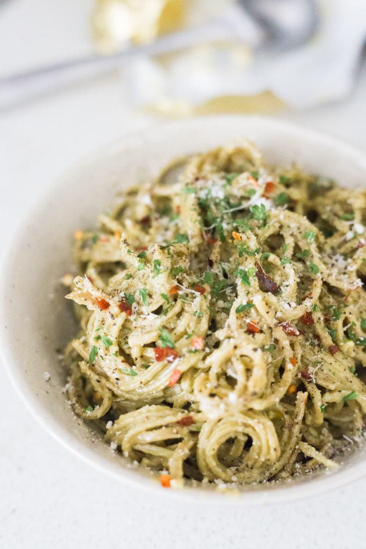 Low Carb Edamame Spaghetti Recipe