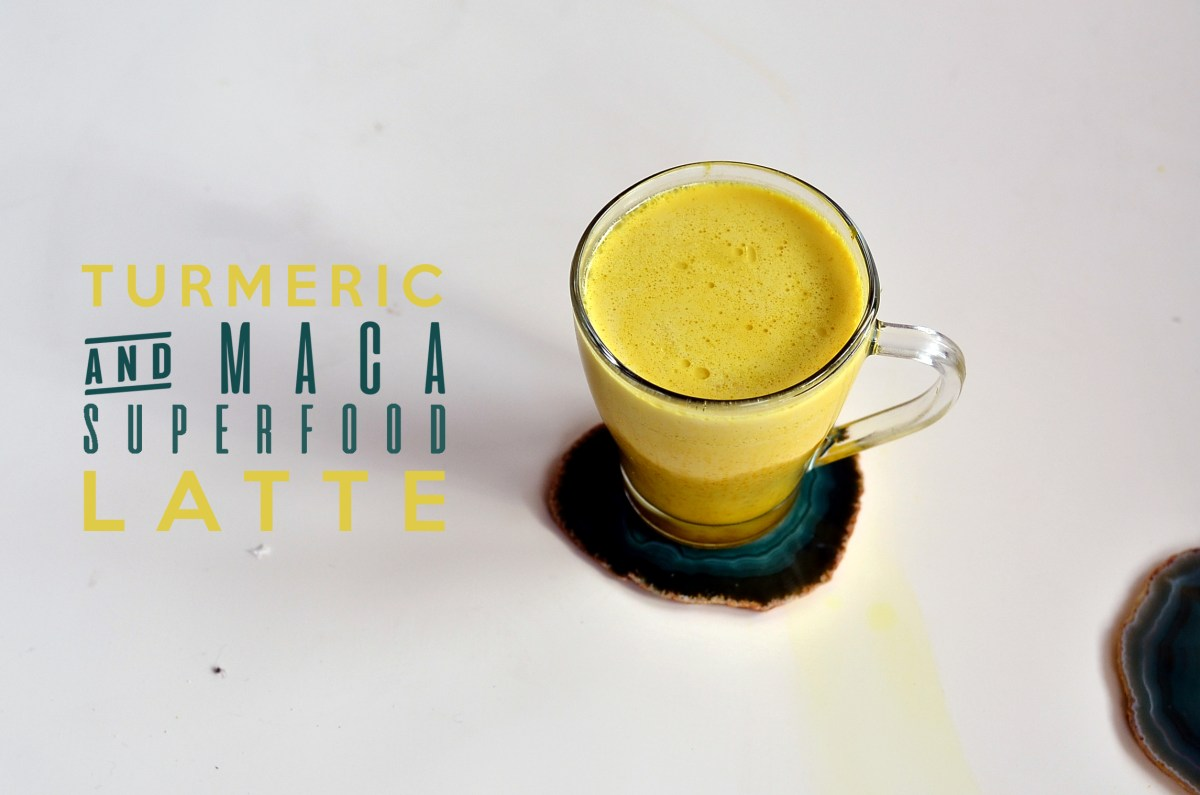 Turmeric & Maca Superfood Latte