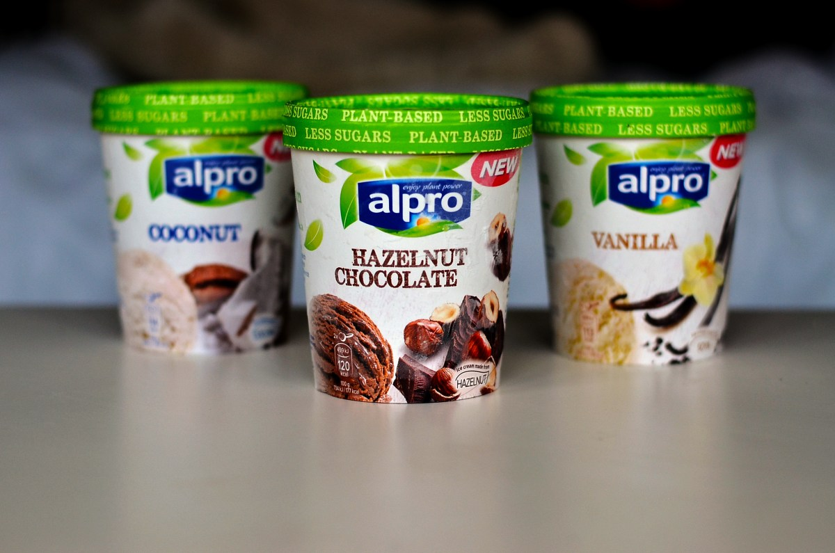 Alpro Dairy-free Icecream Review