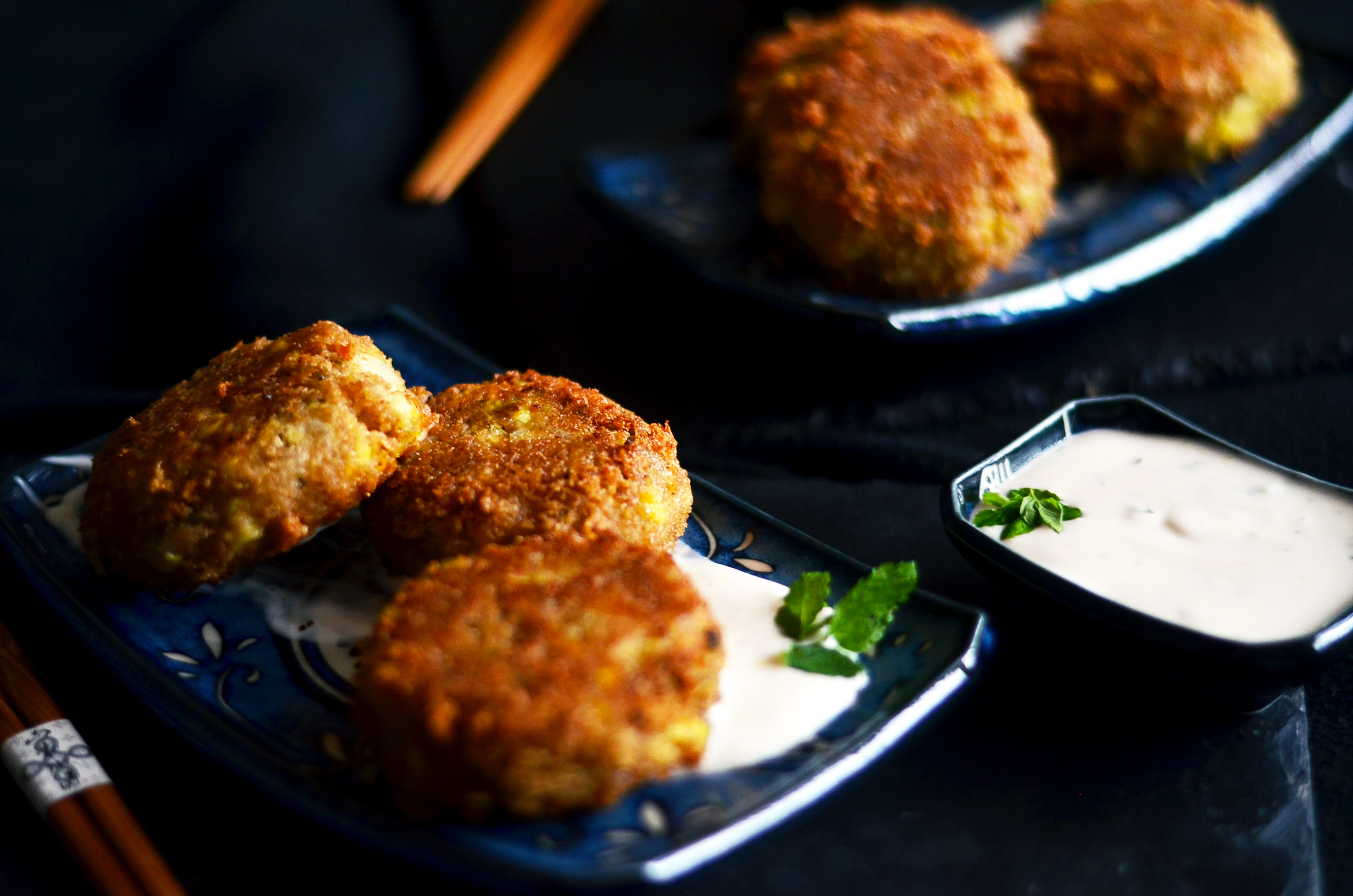A Minted Ginger Lime Mayo Sauce Accompanied These Crab Cakes But They Could Also Go Beautifully With Soy Sauce Or Even A Traditional Tartar Sauce
