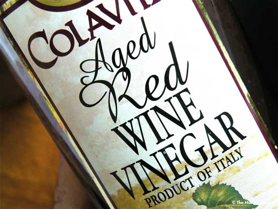 Red Wine Vinegar bottle
