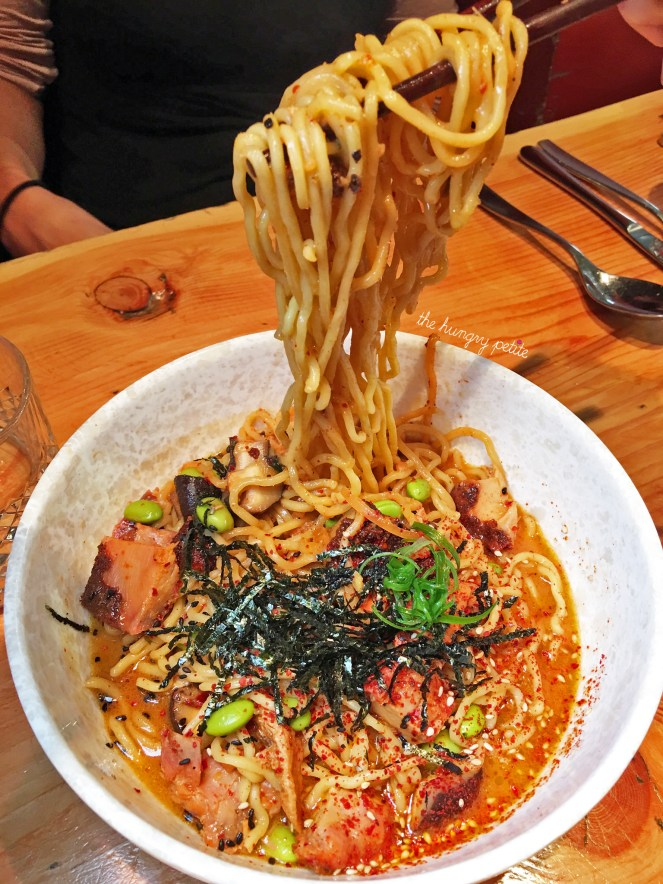 Red Curry Ramen from Block Kitchen & Bar