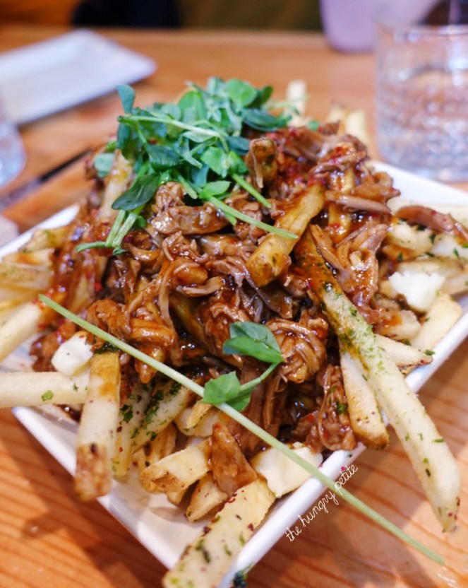 Pulled Duck Poutine from Block Kitchen & Bar