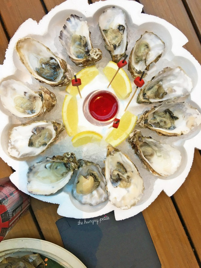 le Big Fish oysters
