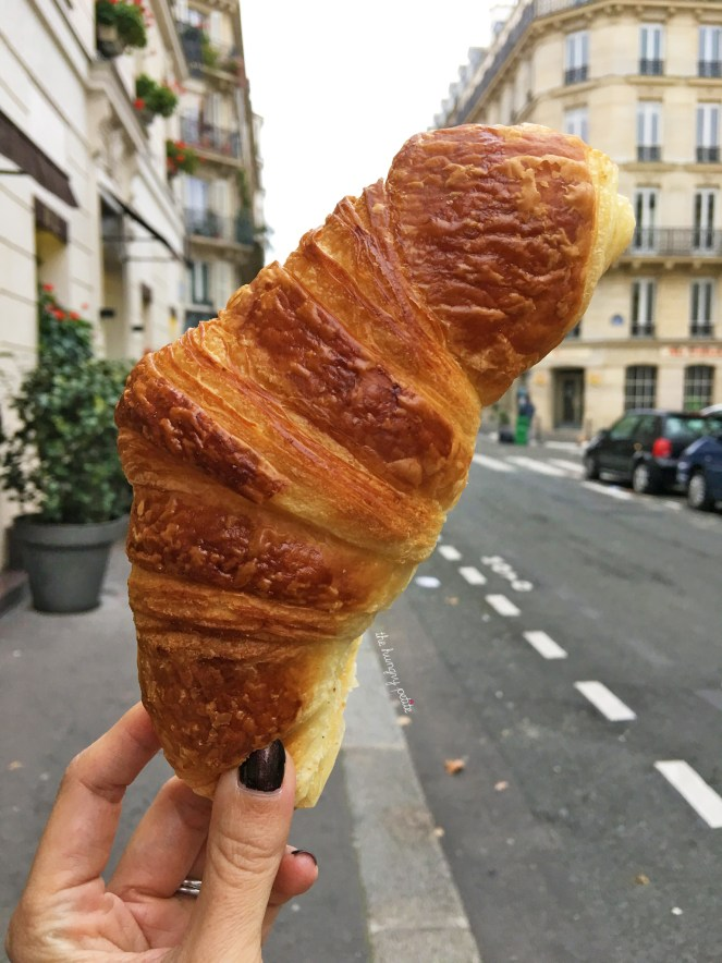 Random croissant down the street from our hotel. Delicious.