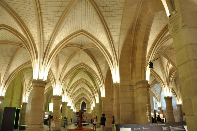 A splendid sight inside the Conciergerie